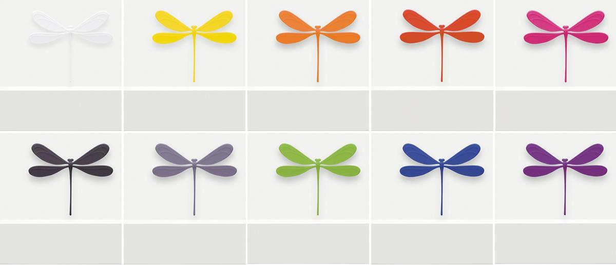 vila dragonfly magnet 3D printed polyamide