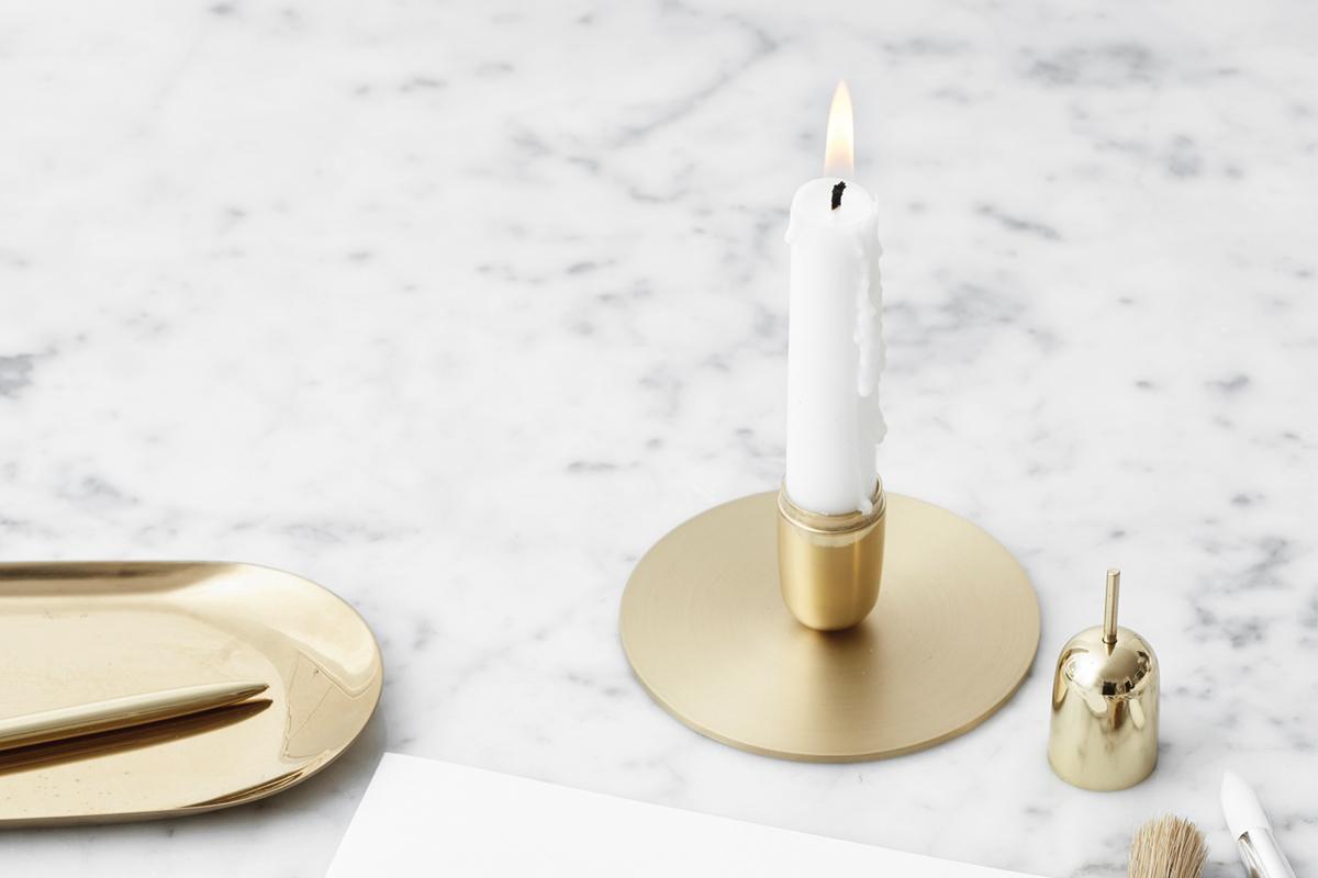 candelabra brass candlestick brass snuffer brass plate