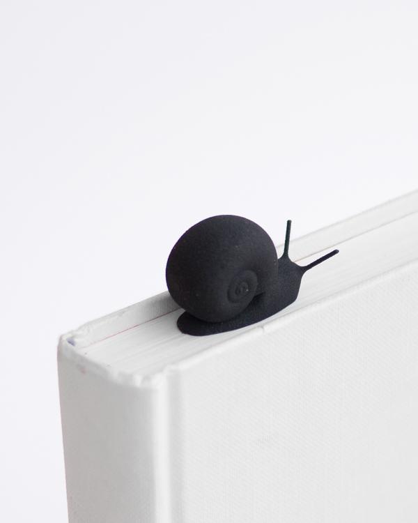 sporo bookmark studio macura 3D printed snail