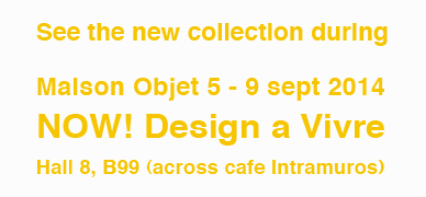 Maison Objet Studio Macura september 5 -9,  2014 Paris France